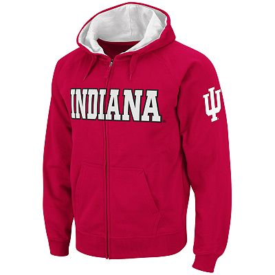 Colosseum Indiana Hoosiers Fleece Hoodie - Men