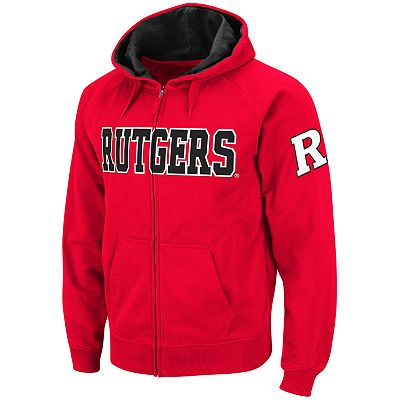 Colosseum Rutgers Scarlet Knights Fleece Hoodie - Men