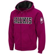 Colosseum Southern Illinois Salukis Fleece Hoodie - Men