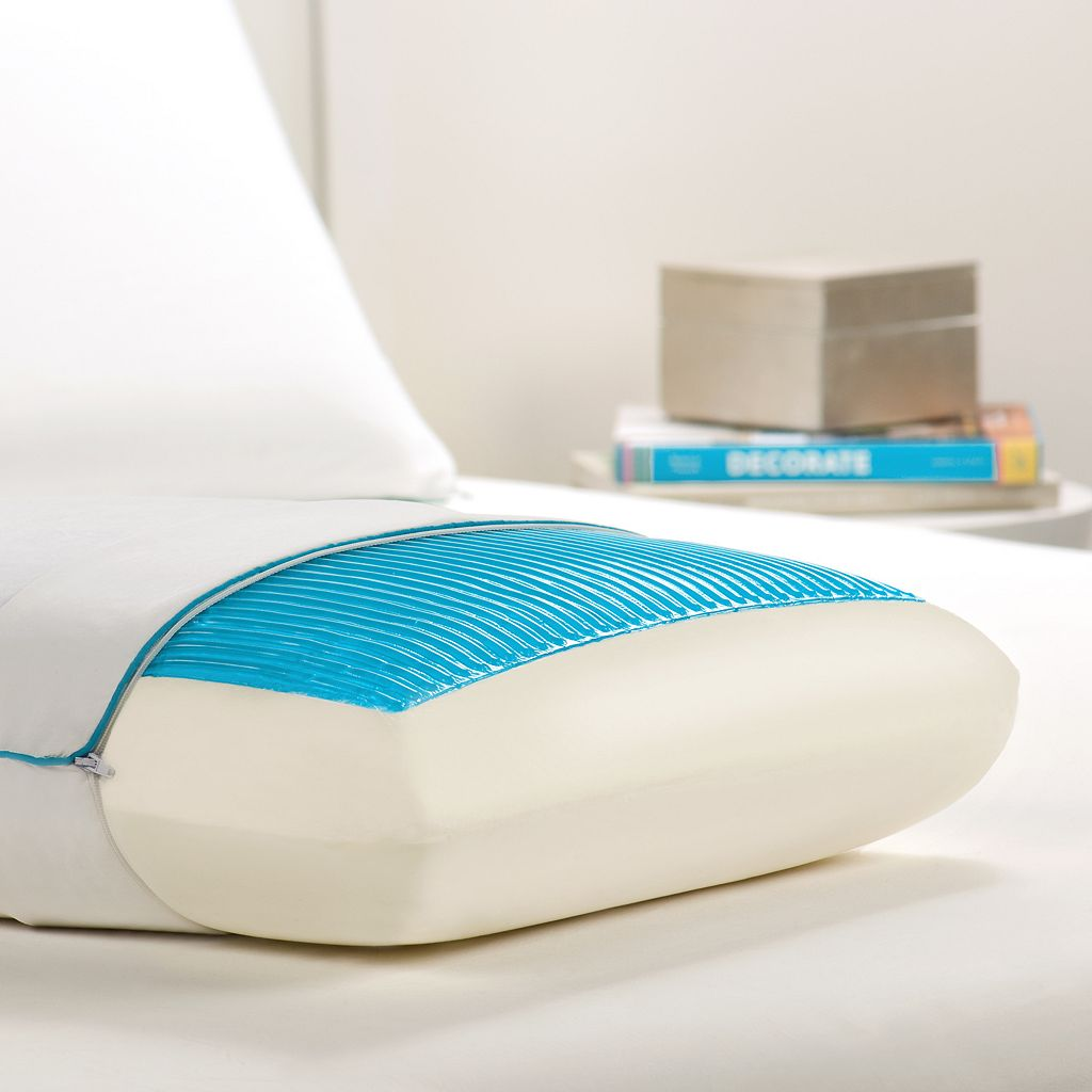 Dream Therapy Gel and Memory Foam Standard Pillow