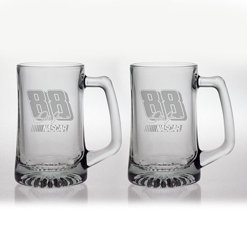 Susquehanna Glass Nascar Dale Earnhardt Jr. 2-Pc. Glass Mug Set