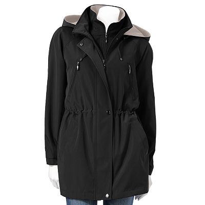 Croft and Barrow Hooded Anorak Stadium Jacket