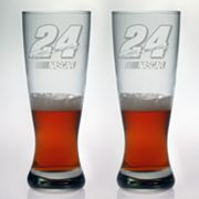 Susquehanna Glass NASCAR Jeff Gordon 2-pc. Pilsner Glass Set