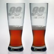 Susquehanna Glass NASCAR Carl Edwards 2-pc. Pilsner Glass Set
