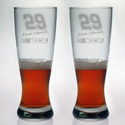 Susquehanna Glass NASCAR Kevin Harvick 2-pc. Pilsner Glass Set