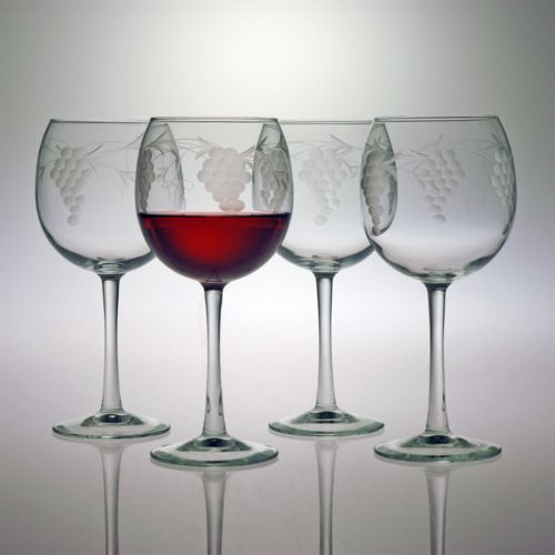 Susquehanna Glass Sonoma Collection 4-pc. Ballon Wine Glass Set