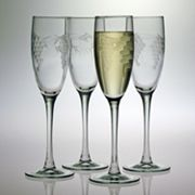 Susquehanna Glass Sonoma Collection 4-pc. Champagne Flute Set