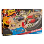 Hot Wheels Team Spiral Speedway Playset by Mattel
