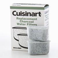 Cuisinart 2 pkReplacement Charcoal Water Filters