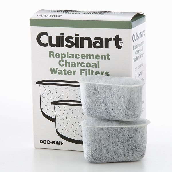 Kohls.com Cuisinart Cuisinart 2-pk. Replacement Charcoal Water Filters: questions, answers, how ...