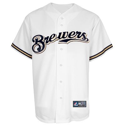 Majestic Milwaukee Brewers Replica Jersey