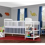 Dream On Me 4-in-1 Crib & Changing Table Set