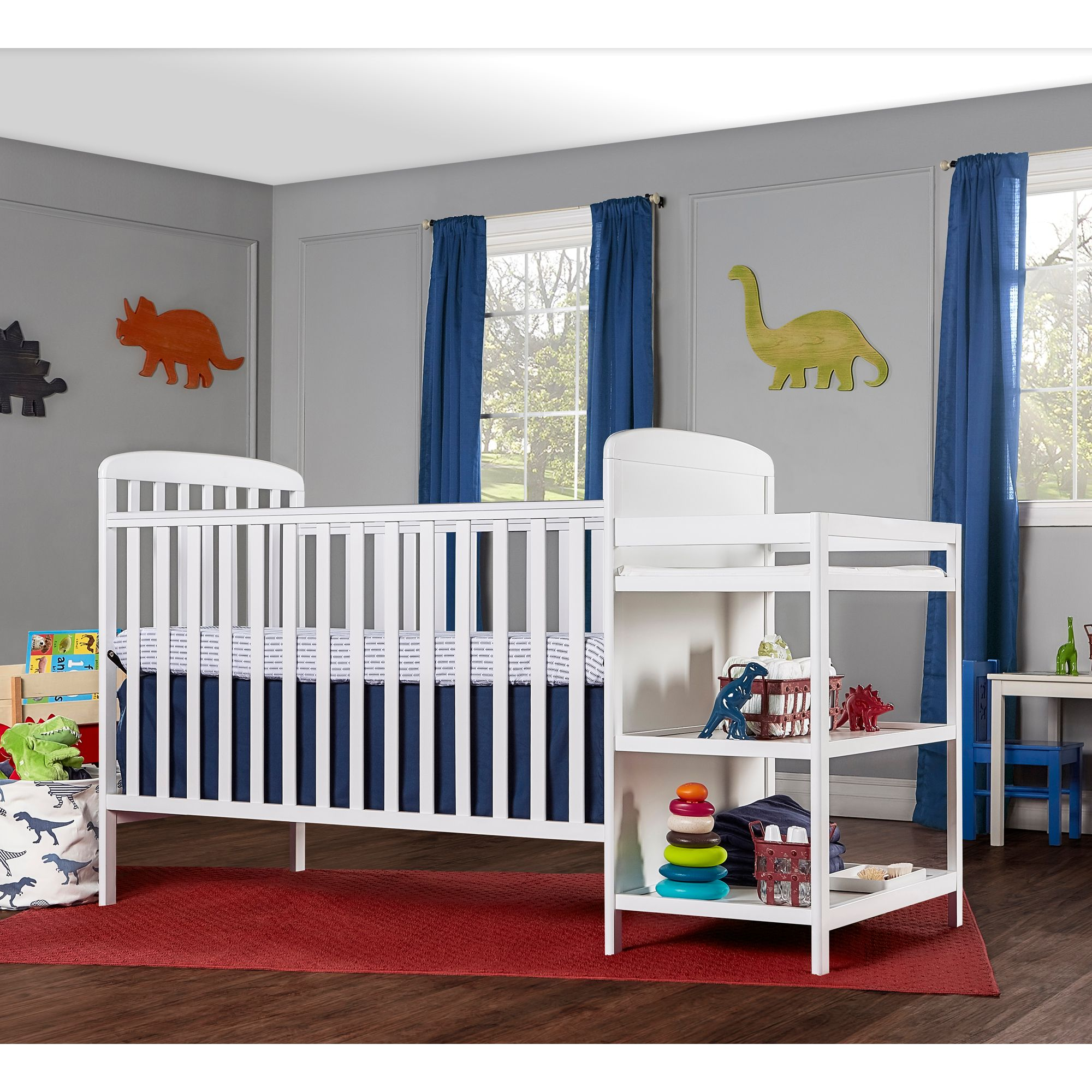 Dream On Me 4 In 1 Crib U0026 Changing Table Set