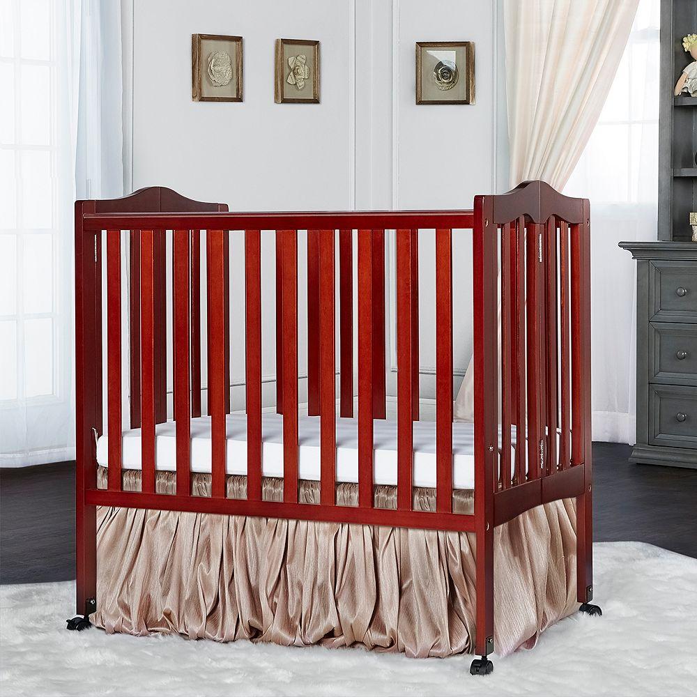 Dream On Me Classic 2 In 1 Folding Portable Crib