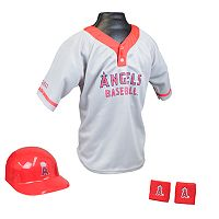 Franklin Los Angeles Angels of Anaheim Uniform Set - Boys