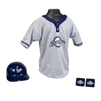 Franklin Milwaukee Brewers Uniform Set - Boys