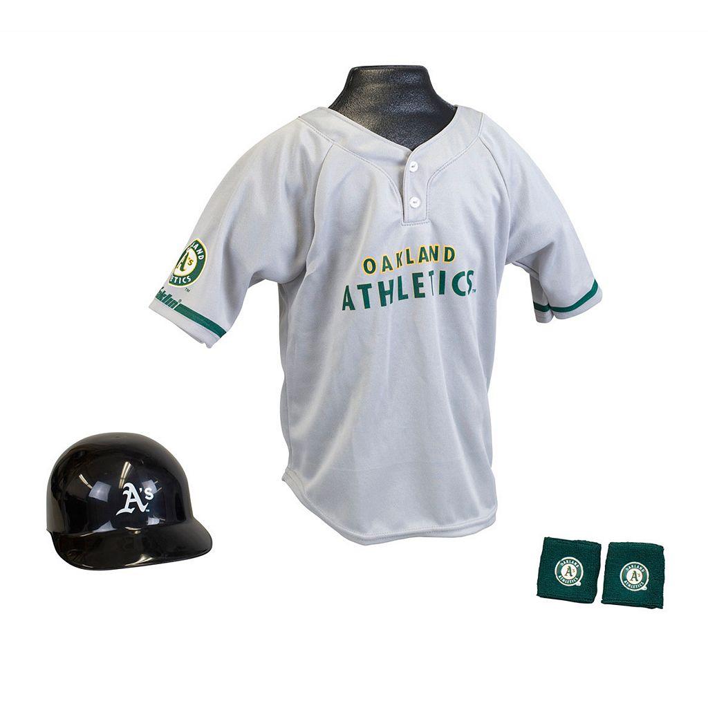 Franklin Oakland Athletics Uniform Set - Boys