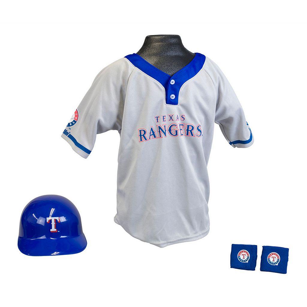 Franklin Texas Rangers Uniform Set - Boys