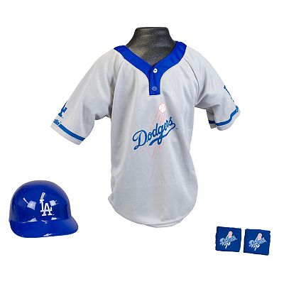 Franklin Los Angeles Dodgers Uniform Set - Boys