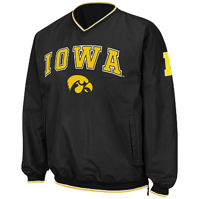 Colosseum Iowa Hawkeyes Pullover Jacket - Men