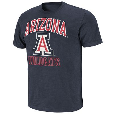 Colosseum Arizona Wildcats Outfield Slubbed Tee