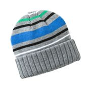 Urban Pipeline Reversible Striped Beanie