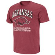 Colosseum Arkansas Razorbacks Outfield Slubbed Tee