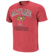 Colosseum Maryland Terrapins Outfield Slubbed Tee
