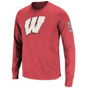 Colosseum Wisconsin Badgers Tee - Men