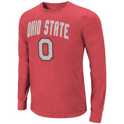 Colosseum Ohio State Buckeyes Tackle Tee - Men