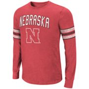 Colosseum Nebraska Cornhuskers Tackle Tee - Men