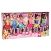 Disney Princess Ballerina Princesses Doll Set by Mattel