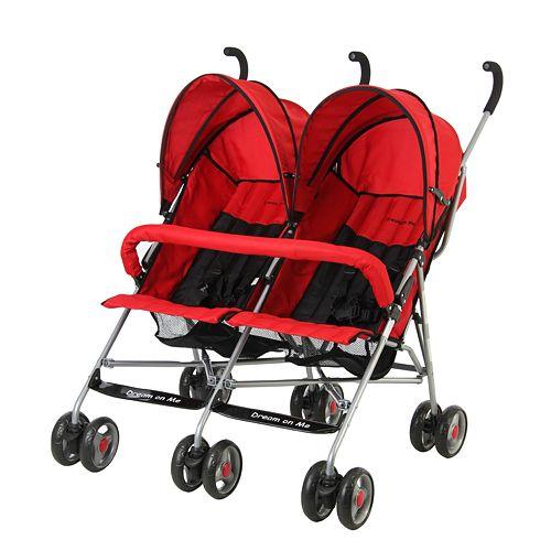 Dream On Me Twin Stroller