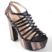 Journee Collection Booker Platform Sandals - Women