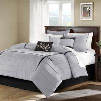 Home Classics® Ashton 7-pc. Comforter Set - Queen