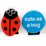 Sassy Ladybug and Cute As A Bug Charm Bands