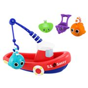 Sassy Fishing Boat Bath Toy Set