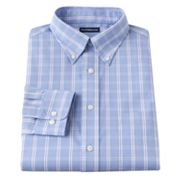 Croft and Barrow Slim-Fit Patterned Easy-Care Button-Down Collar Dress Shirt
