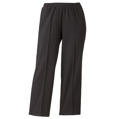 Cathy Daniels Pull-On Straight-Leg Pants - Women's Plus
