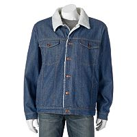 Big & Tall North 40 Lined Denim Jacket