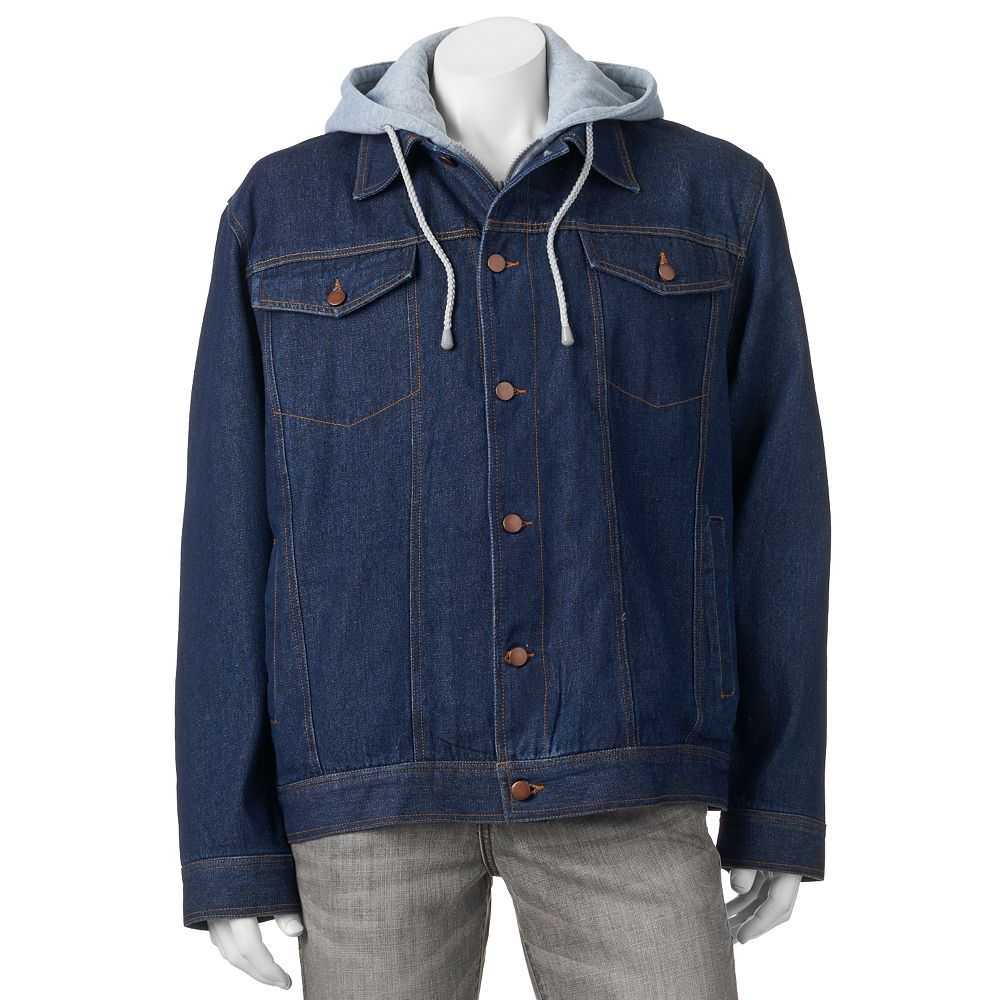 Men's Domini Hooded Denim Jackets