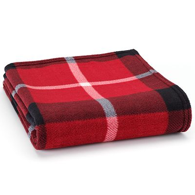 Home Classics Plaid Fleece Throw