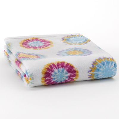 Home Classics Tie-Dye Fleece Throw