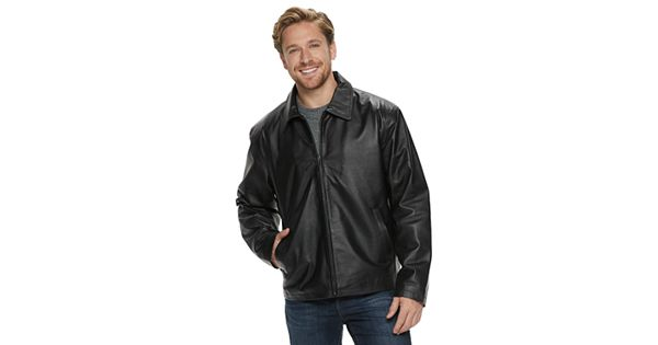 Men S Vintage Leather Black Split Napa Leather Jacket