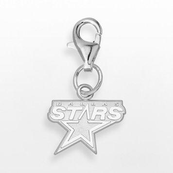 LogoArt Dallas Stars Sterling Silver Logo Charm