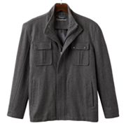 Domini Button-Front Wool Blend Jacket - Men's