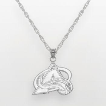 Colorado Avalanche Sterling Silver Logo Pendant