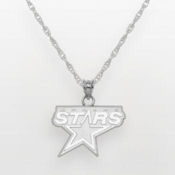 Dallas Stars Sterling Silver Logo Pendant