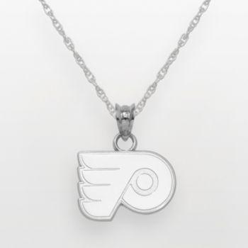 LogoArt Philadelphia Flyers Sterling Silver Logo Pendant