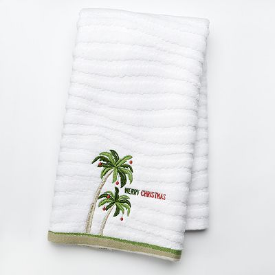 St. Nicholas Square Palm Tree Hand Towel
